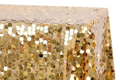 "90"" x 156"" Payette Sequin Tablecloth"