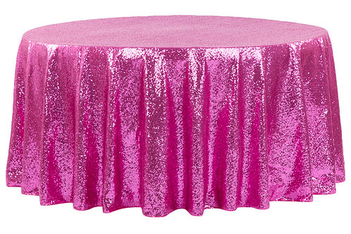 "108"" Sequin Tablecloth"