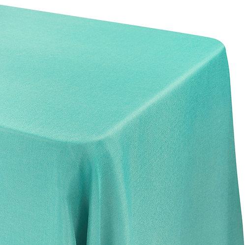 """90"""" x 156"""" Faux Burlap Tablecloth"""