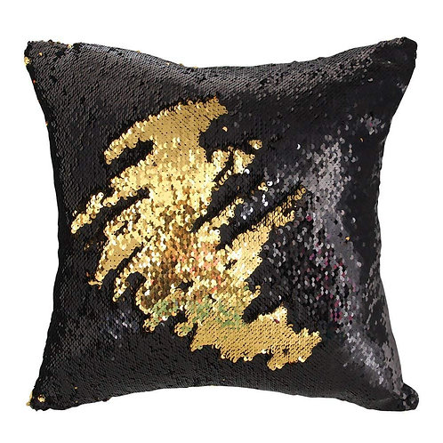 "16"" x 16"" Sequin Mermaid Pillow"