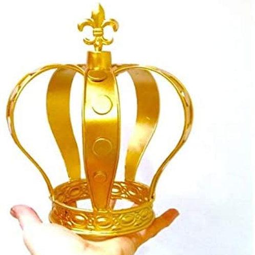 "8"" Gold Metal Crown"