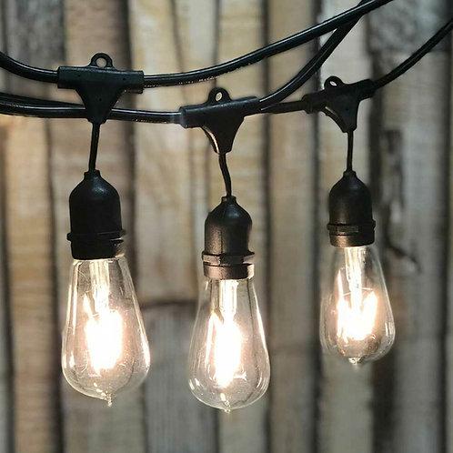 48' Edison Bulb String Lights
