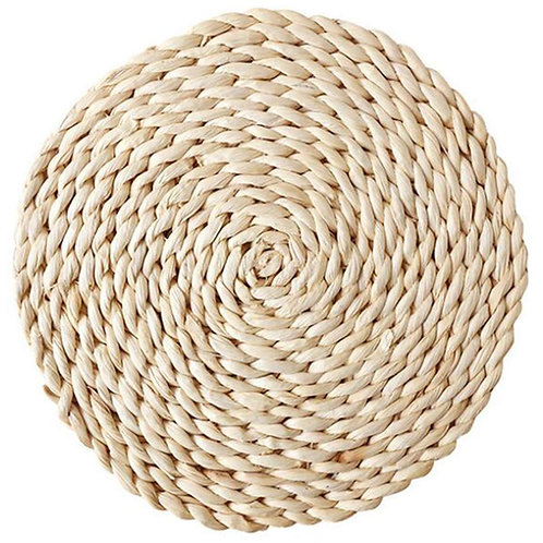 "12"" Braided Rattan Placemat"