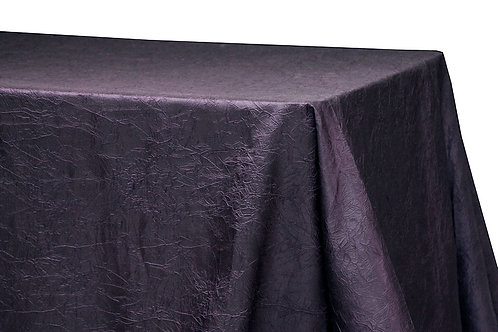 "90"" x 156"" Crinkle Taffeta Tablecloth"