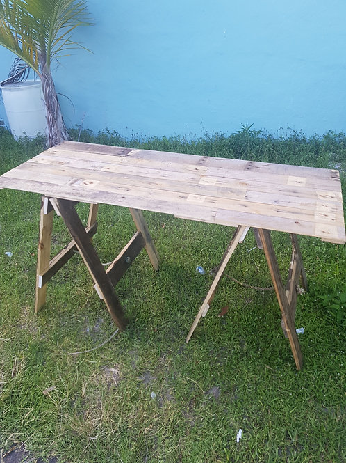 Rustic A-Frame Table