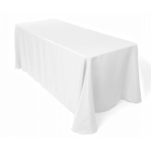 """90"""" x 156"""" Polyester Tablecloth"""
