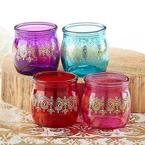 Indian Jewel Tea Light Holder
