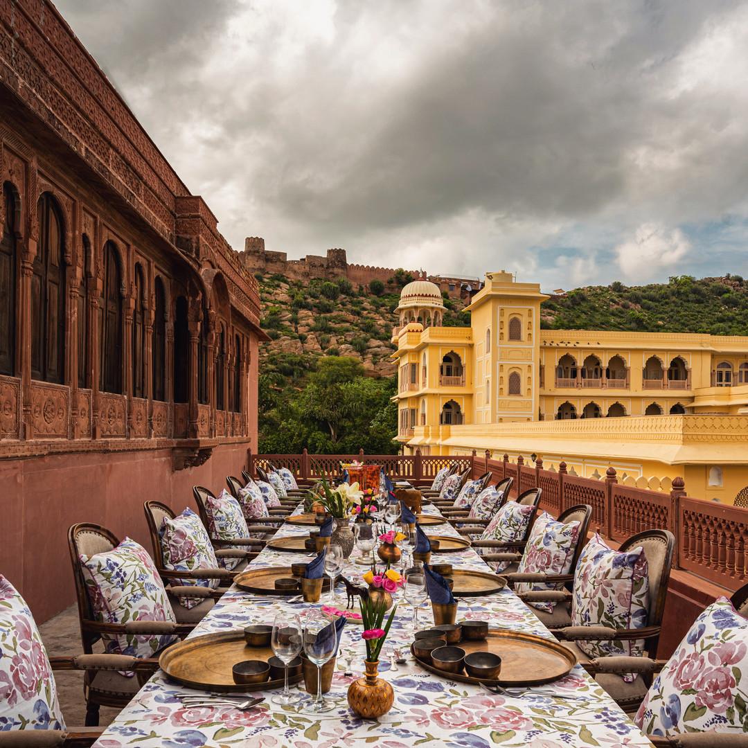 Rang Mahal Terrace Dining