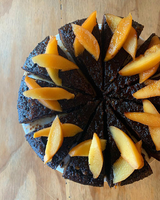 Ginger and Quince Cake