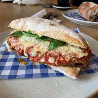 Alex B - Eggplant Parm Sandwich