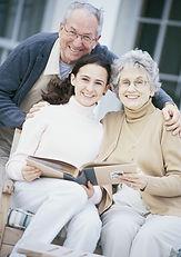 Les grands-parents fiers