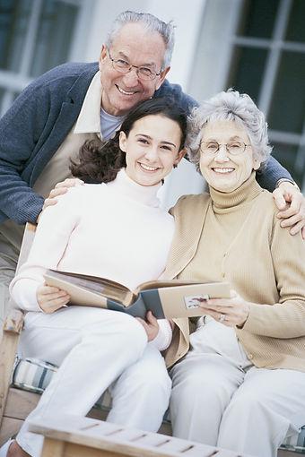 stolz Großeltern