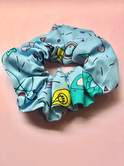 My Mini Scientist Science Scrunchie- Blue