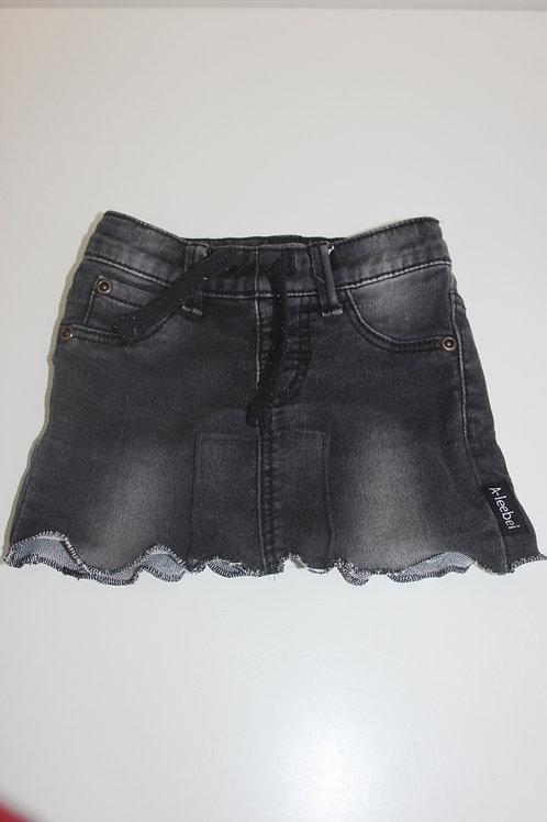 Rokje gemaakt van oude jeans mt 68