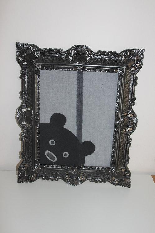 Schilderijtje met beer