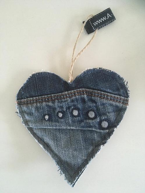 Hart van old jeans