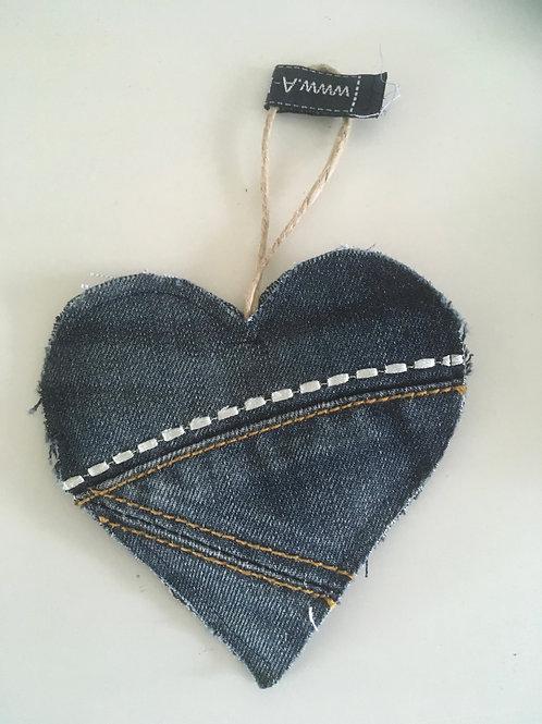 Geurhartje van old jeans