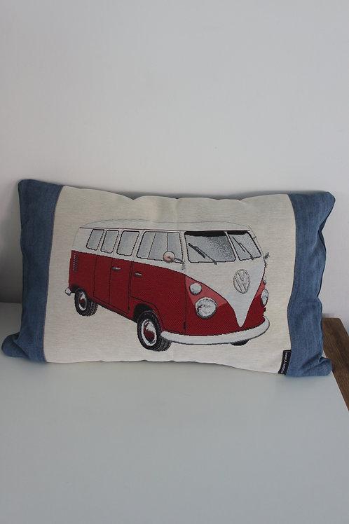 Kussenhoes met VW afbeelding