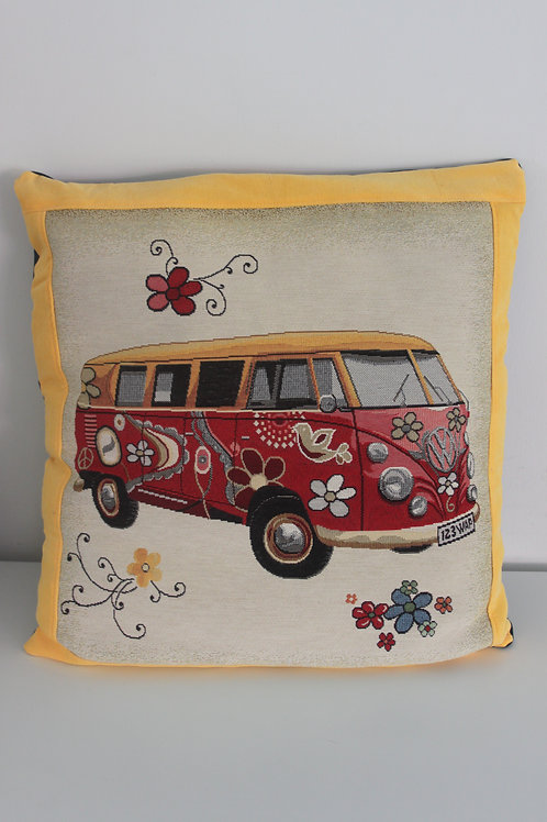 Kussen met VW-wagen busje