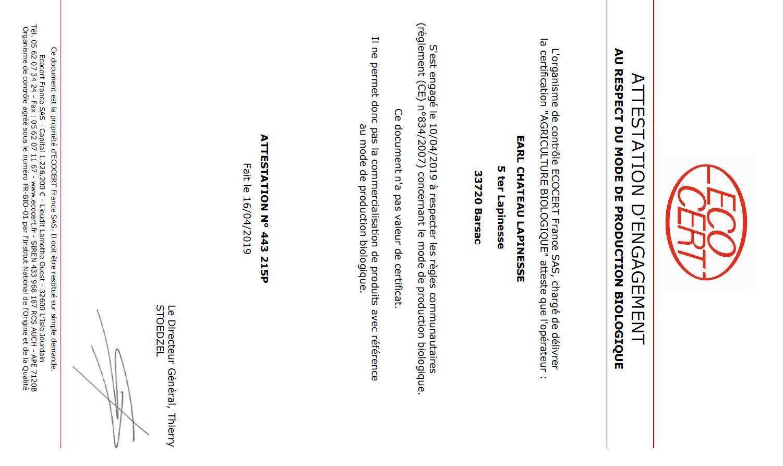 certificat ab