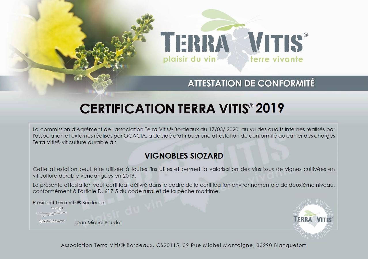 certificat tv