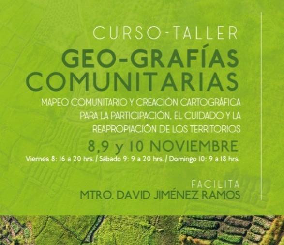 Geo-grafías comunitarias