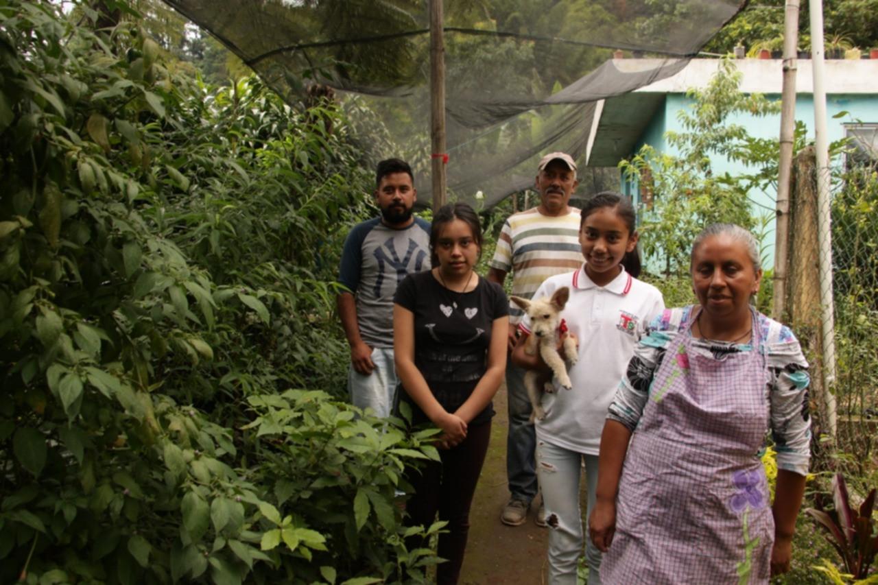 Familia guardiana del vivero San Fiacre