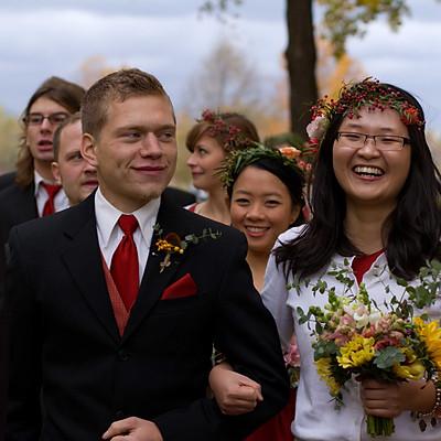Jake and Chrissy Wedding