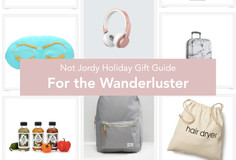 Not Jordy Holiday Gift Guide: For the Wanderluster