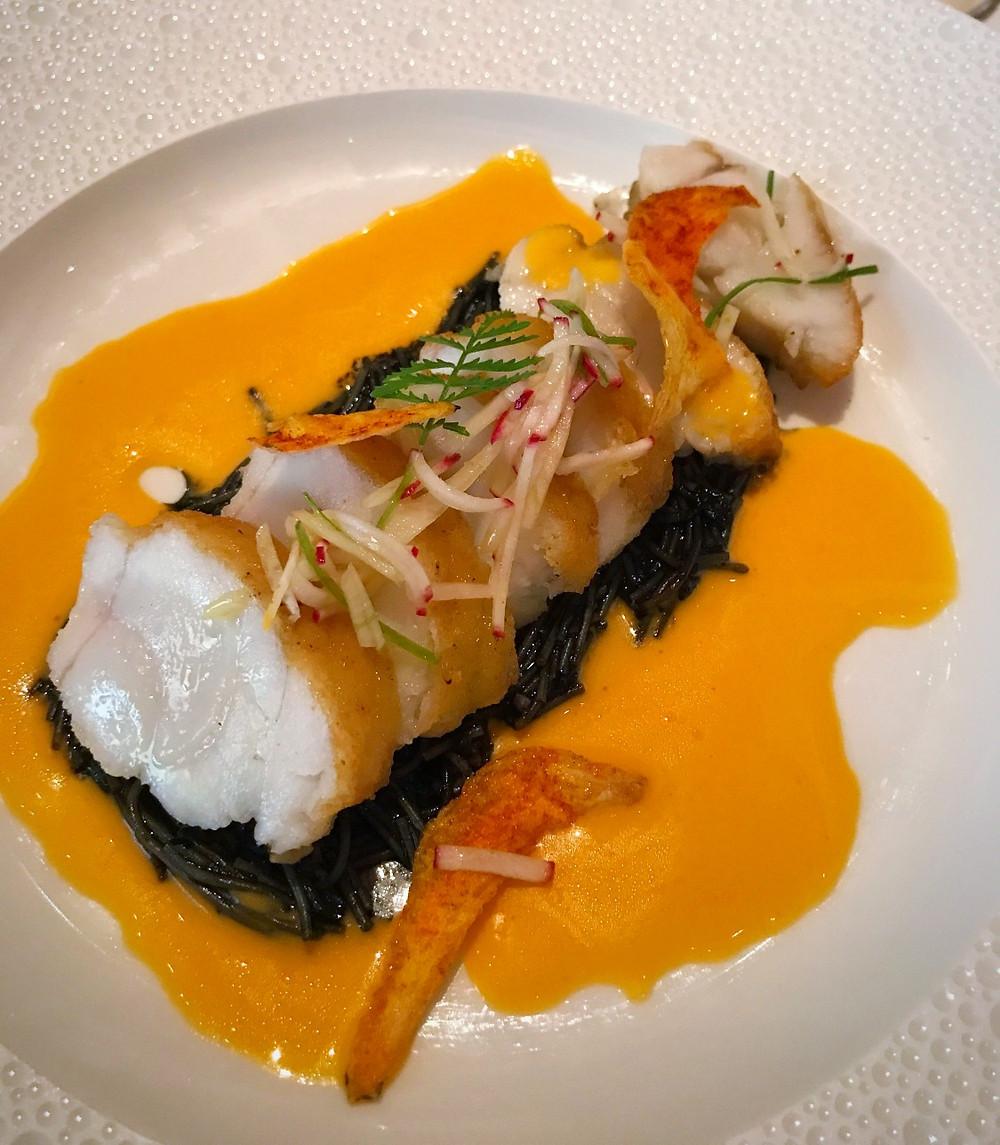 Pan-Roasted Monkfish