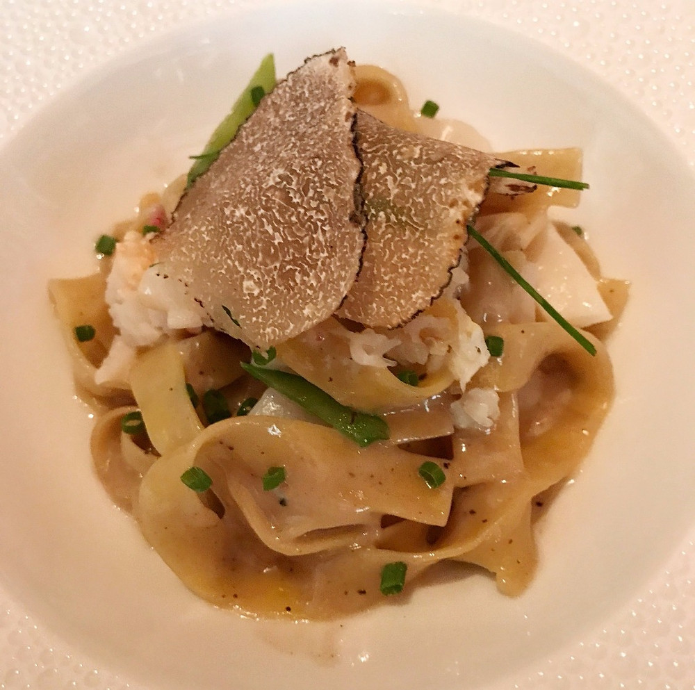 Seafood Truffle Pasta