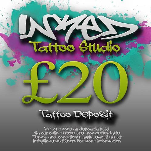 Tattoo Deposit £20