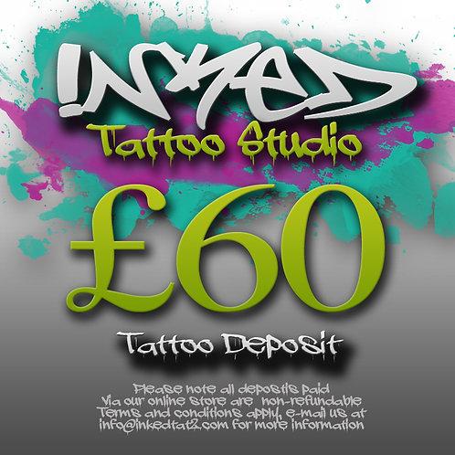 Tattoo Deposit £60