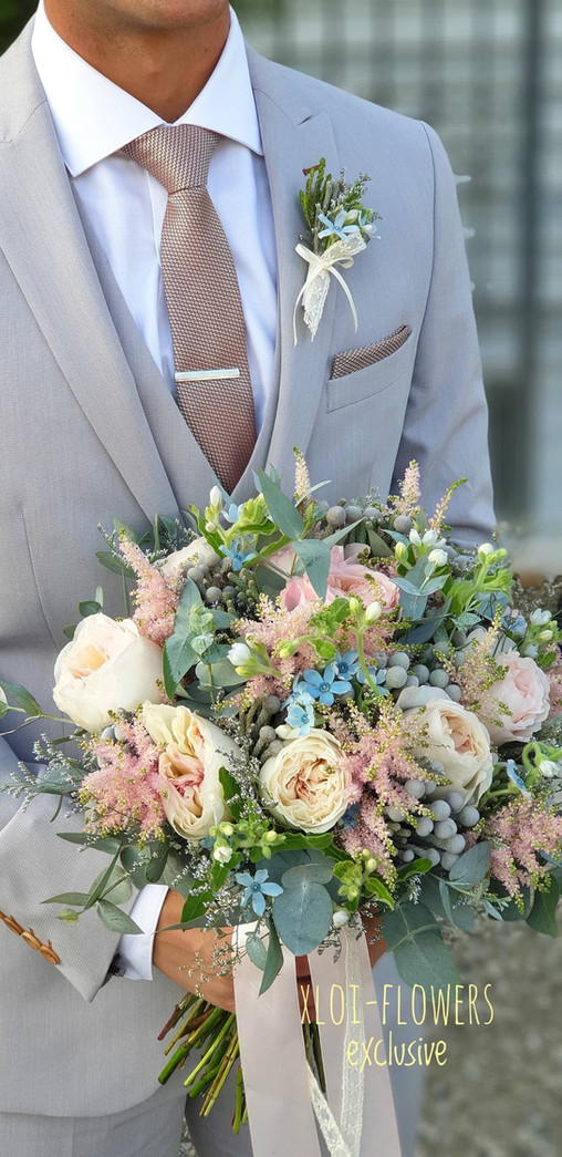 Elegance bridal bouquet