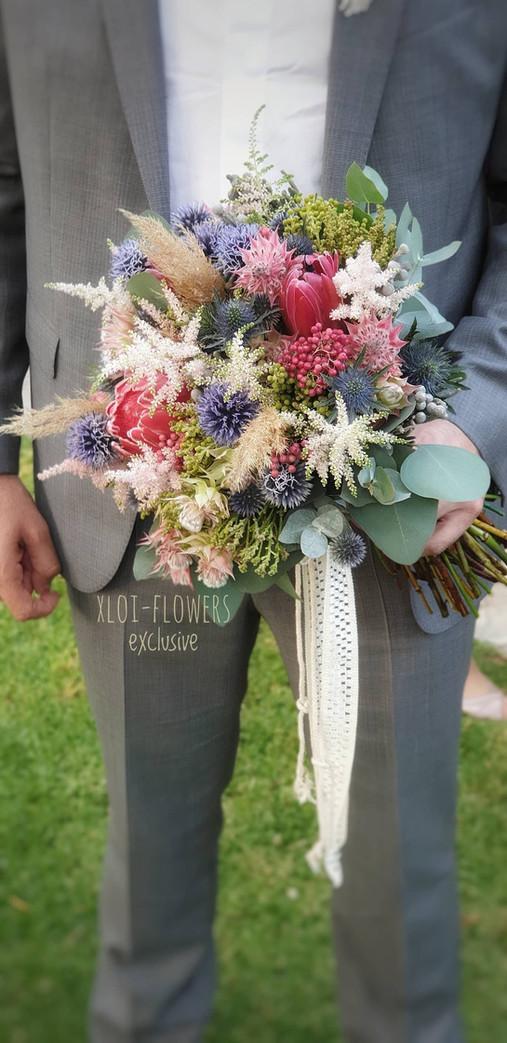 Lovely boho bouquet