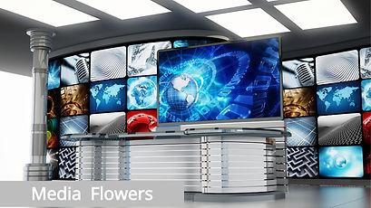 Media Flowers by Xloiflowers