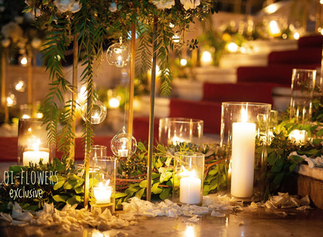 Elegant ρομαντικός γάμος στην Αθήνα σε χρυσές και λευκές αποχρώσεις...