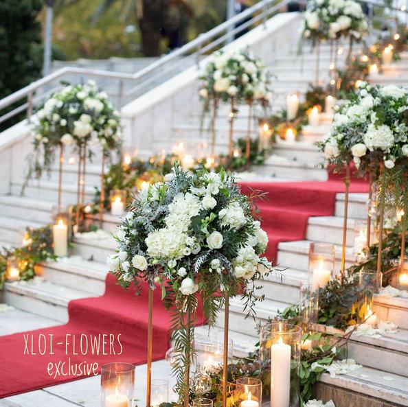 Υπέροχος Chic - Elegance γάμος στην Αθήνα