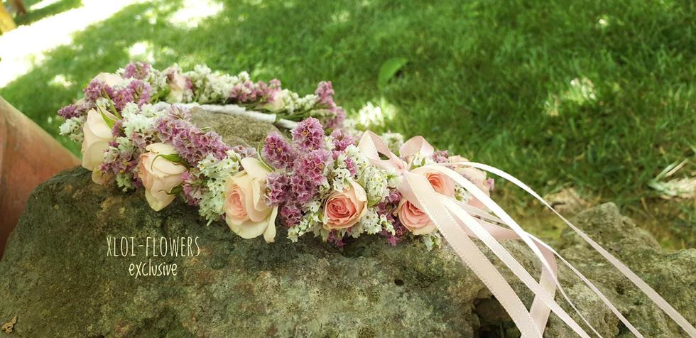στεφανακι λουλουδιων