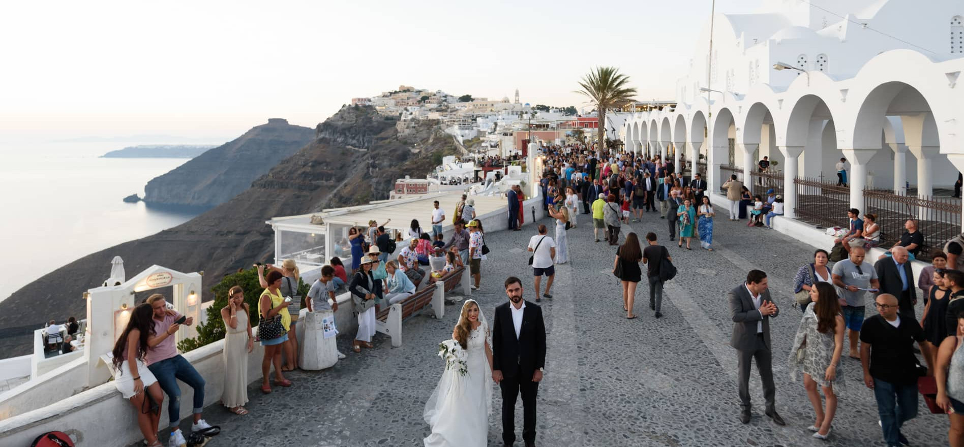 wedding santorini