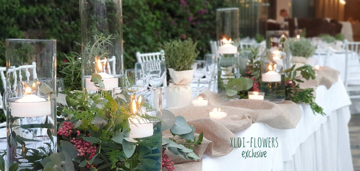 wedding table boho