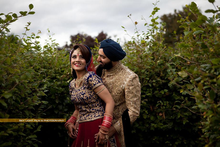 Wedding Day couple shoot