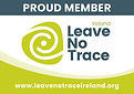 Leave No Trace Ireland Proud Member Stic