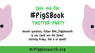 Twitter Party Feb 6 at 6pmET