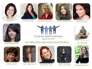 Social For Good Semi-Finalist!