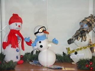 «Спортивный снеговик»