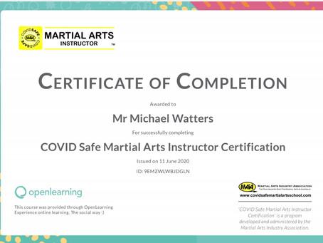 Covid Instructor Training.