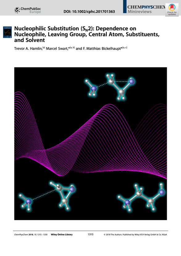 FRONTISPIECE: Nucleophilic Substitution (SN2): Dependence on Nucleophile, Leaving Group, Central Atom, Substituents, and Solvent