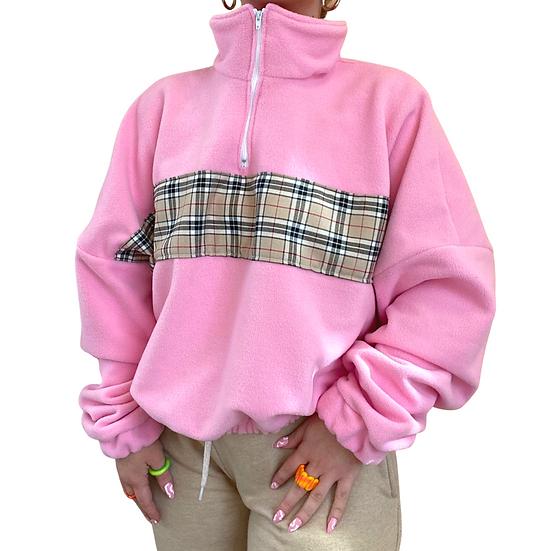 Taylor half Zip Light Pink