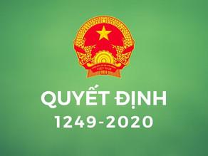 Quyết định 1249 BTNMT Kế hoạch ổn định dân di cư tự do & quản lý đất nguồn gốc nông lâm trường